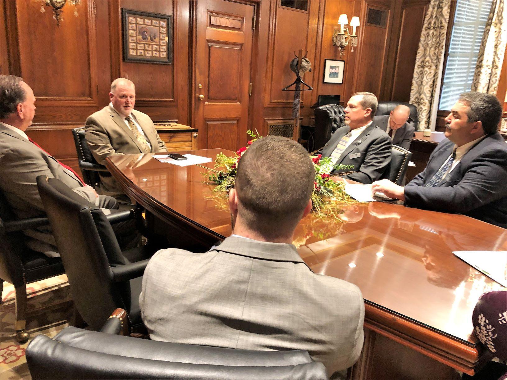 Growers Visit President Pro Tem